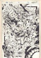 The Tenth #4 p.15 - Tenth Action Splash - 1997  Comic Art