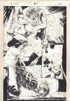 The Tenth #4 p.18 - Flamethrower - 1997  Comic Art