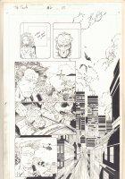 The Tenth #6 p.22 - City Invaded - 1998 Comic Art