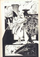The Tenth #9 p.13 - Demon in the Park Splash - 1998 Comic Art