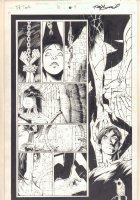 The Tenth #10 p.9 - Esperanza Del Toro in Bondage - 1998 Comic Art