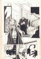 The Tenth #12 p.8 - General Greer with Rhazes Darkk - 1998 Comic Art