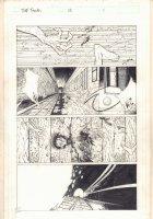 The Tenth #13 p.1 - Cut in Half by Subway Train - 1998 Comic Art