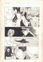 The Tenth #13 p.10 - General Greer and Rhazes Darkk - 1998 Comic Art
