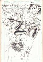 The Tenth B/E #1 p.26 - Babe Attacked Splash - 1999 Comic Art