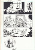 Countdown #36 p.2 - 'The Origin of Deathstroke the Terminator' - 2007 Signed Comic Art