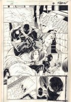 F5 #1 p.8 - Babe Rescued from being Strangled - 2000 Signed Comic Art