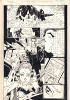 F5 #1 p.13 - Submarine - 2000 Signed Comic Art