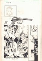 Sasha Ho Action Page - 1999 Comic Art