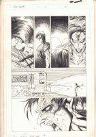 The Tenth #12 p.22 - Subway Standoff - 1998 Comic Art