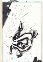 Detective Comics #8 p.1 - Catwoman Splash - 2012 Signed Comic Art