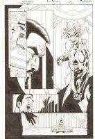 Flash: The Fastest Man Alive #11 p.6 - Inertia - 2007 Comic Art