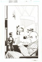 Superman Confidential #5 p.5 - ''Kryptonite!'' - Superman, Lex Luthor, & Babe Splash - 2007 Signed Comic Art