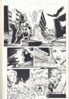 Journey into Mystery #628 p.16 - Loki and Hela - 2011 Signed Comic Art