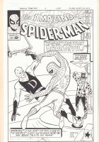 Amazing Spider-Man #16 Cover Recreation - After Steve Ditko - Spidey vs. Daredevil and the Ringmaster - Signed Comic Art