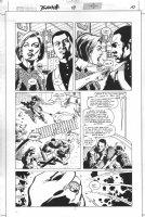 Green Lantern #111 p.10 - John Stewart vs. Fatality Comic Art