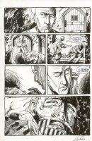 St. Germaine #9 p.03 Dungeon Scene - Signed Comic Art