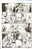 Saint Germaine 9 pg. 4 - Signed Comic Art