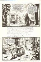 Saint Germaine 25 pg. 2 - Signed Comic Art