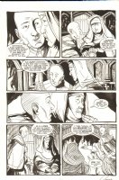 Saint Germaine 9 pg. 22 - Signed Comic Art
