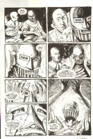 Saint Germaine 9 pg. 6 - Signed Comic Art
