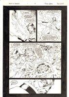 Sword of Damocles #1 p.6 - 1996 Signed Comic Art