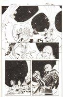 Uncanny X-Men #536 p.2 - Cyclops and Kruun - 2011 Comic Art