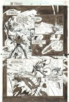 Doctor Strange, Sorcerer Supreme #57 p.4 - Aliens - 1993 Comic Art