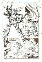 Doctor Strange, Sorcerer Supreme #57 p.5 - Aliens - 1993 Comic Art