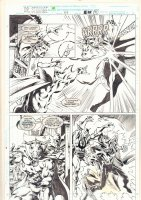 Doctor Strange, Sorcerer Supreme #47 p.21 - Doctor Strange vs. Counter Earth Doctor Strange and Rintrah - 1992 Comic Art