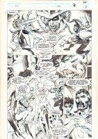 Marvel Comics Presents #146 p.7 - Doctor Strange, Nightmare, Salome, and Caretaker - 1994 Signed Comic Art
