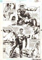 Suicide Squad #46 p.18 - Ravan, Vixen - 1990 Signed Comic Art