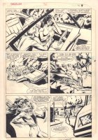 Dazzler #36 p.7 - Tatterdemalion Kidnaps a Woman - 1985 Signed Comic Art
