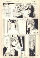 Dazzler #34 p.10 - Millie the Model and Chilie Storm - 1984 Signed Comic Art