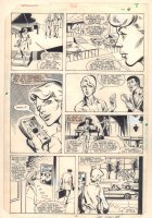 Dazzler #36 p.4 - Ali's New Gig at a Night Club - 1984 Signed Comic Art