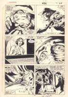 Dazzler #36 p.18 - Tatterdemalion Flees - 1985 Signed Comic Art