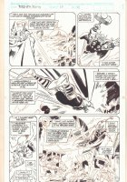 Thor Annual #17 p.10 - Thor Traveling Through Time - 1992 Signed Comic Art