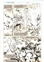Thor #452 p.30 - Enchantress Battles Nightmare - 1992  Comic Art