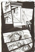 Green Arrow / Black Canary #15 p.17 - Canary Held Hostage - 2009 Signed Comic Art