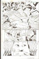 Green Lantern Dragon Lord #3 p.33 - Signed Comic Art