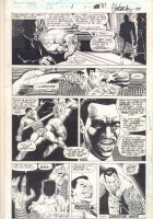 Cage #1 p.31 - Hardcore Action End Page - 1992 Comic Art