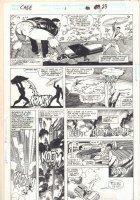 Cage #1 p.23 - Luke Cage vs. Hardcore - 1992  Comic Art