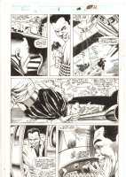 Cage #1 p.26 - Action - 1992 Signed Comic Art