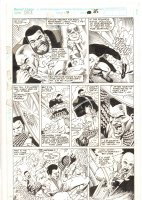 Cage #7 p.25 - Luke Cage and Iron Fist - 1992 Signed Comic Art