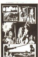 Cyclops #3 p.13 - Cyclops with Natives - Signed Comic Art
