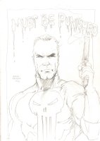 Anthony as The Punisher: ''Must be Punished'' - 2016 Signed Comic Art