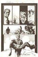 X-Men Movie Prequel: Magneto p.30 - Professor X & Magneto End Page - 2000 Comic Art