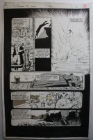 Punisher War Journal, The #25 p.13 - LA - Mafia Kills - 1991 Signed Comic Art