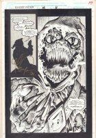 Ghost Rider #16 p.11 - Hobgoblin Splash - 1991 Comic Art