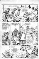 Steve Englehart's Coyote #3 p.28 - Signed Comic Art